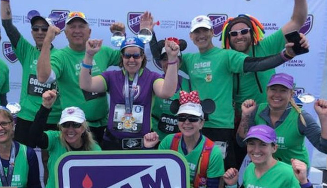 The catalyst for Team in Training runs full marathon
