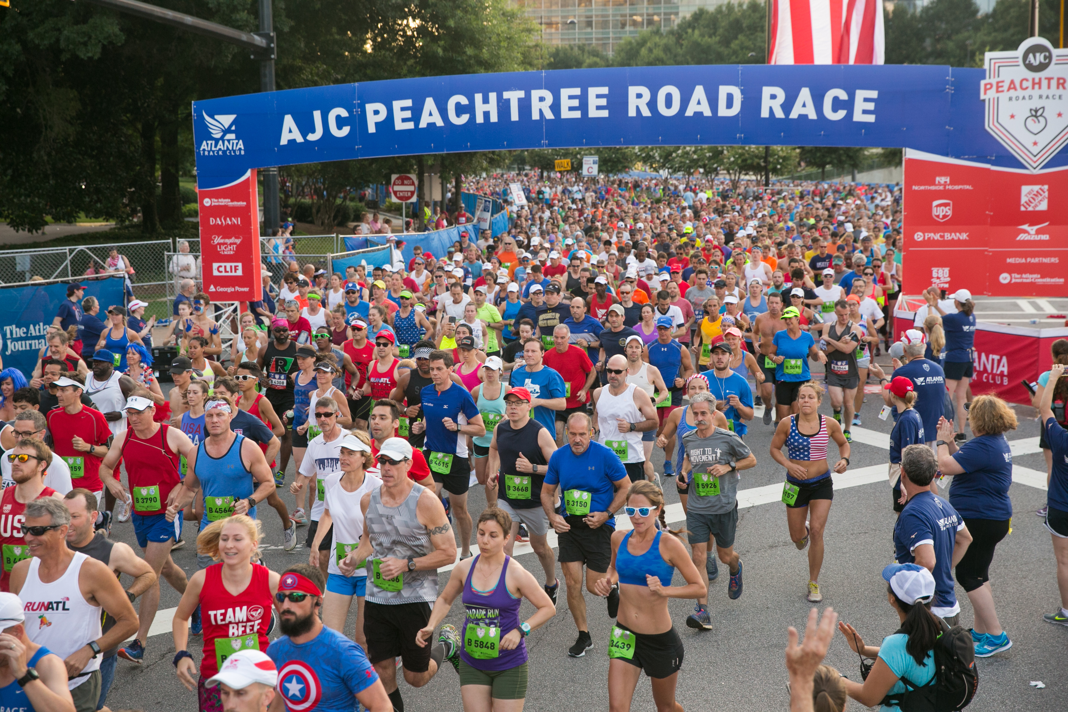 The 51st Annual Running of the Peachtree normally held July 4th has been moved to Thursday November 26