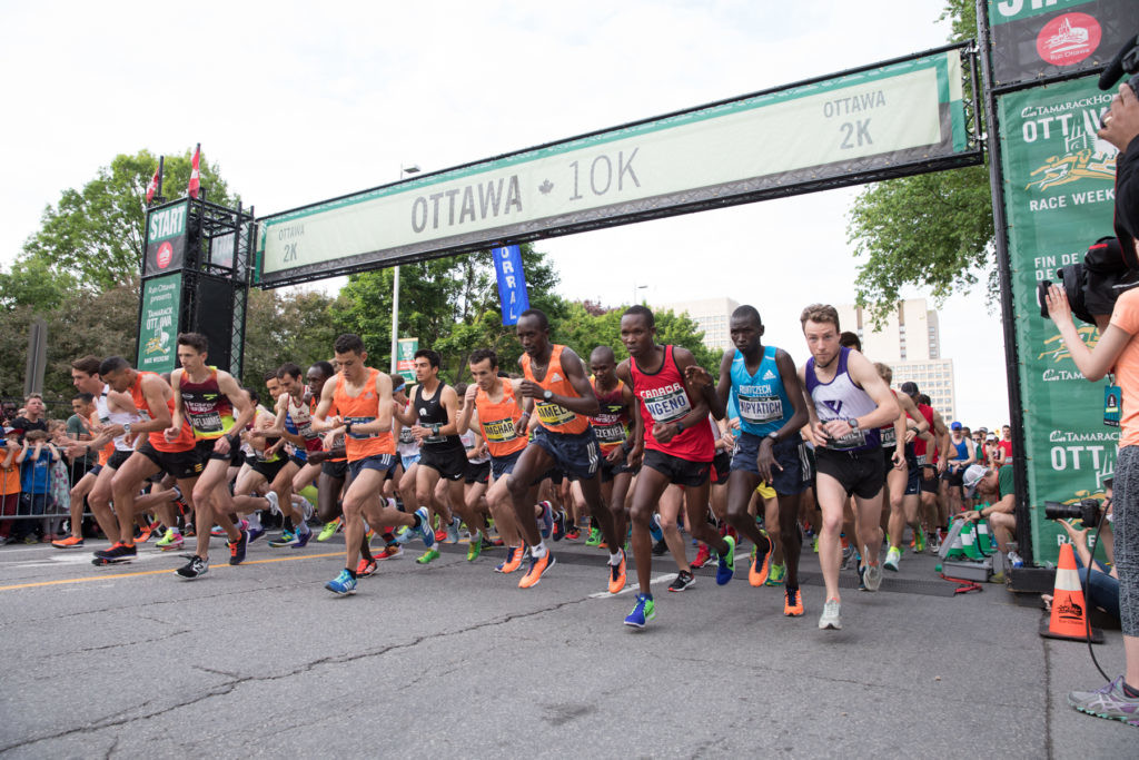 Organizers of the Tamarack Ottawa Race Weekend announced that they will increase the overall prize purse for Canadian athletes in the Ottawa 10K event