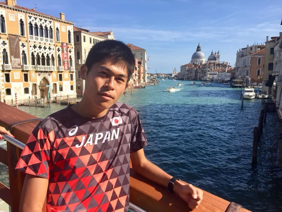 Yuki Kawauchi felt ashamed of his performance in Chicago but has arrived in Venice with one thing in mind