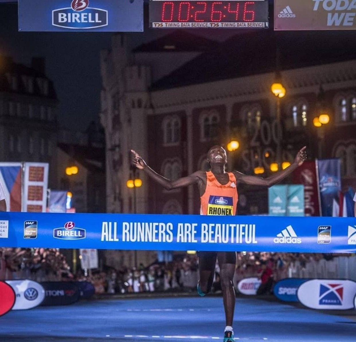 Teen runs the second fastest road 10K ever, Phonex Kipruto clocked 26:46 at the Birell Prague Grand Prix