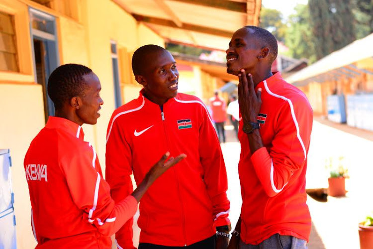 Geoffrey Kamworor says he isn't quitting track anytime soon despite his success on the road