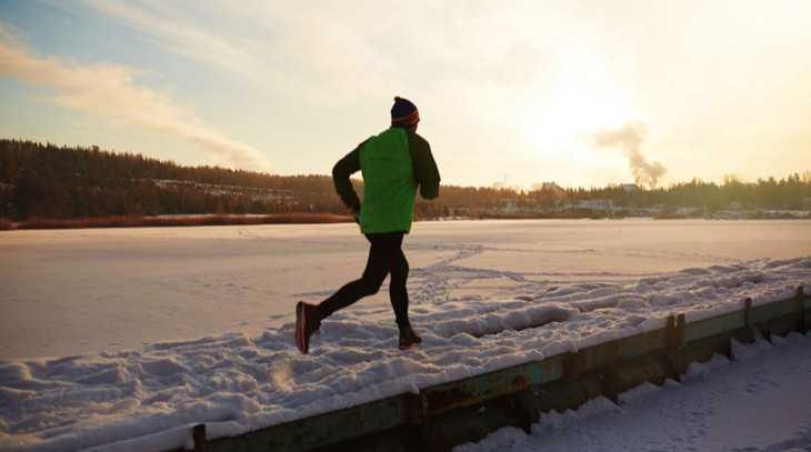 Think of running in winter as a training tool to make you stronger, tougher, healthier and happier