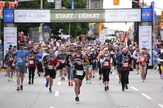 New routes for Canada Army Run 2019