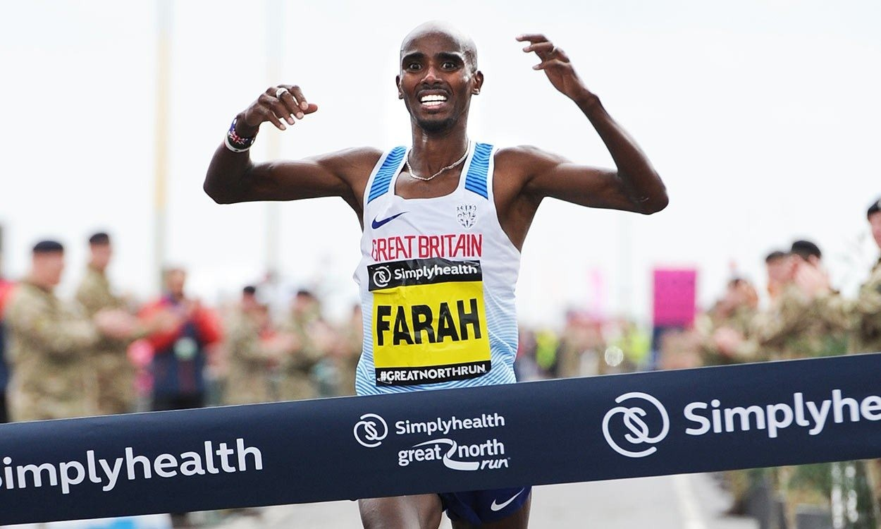 Mo Farah aiming for high five win at Simplyhealth Great North Run
