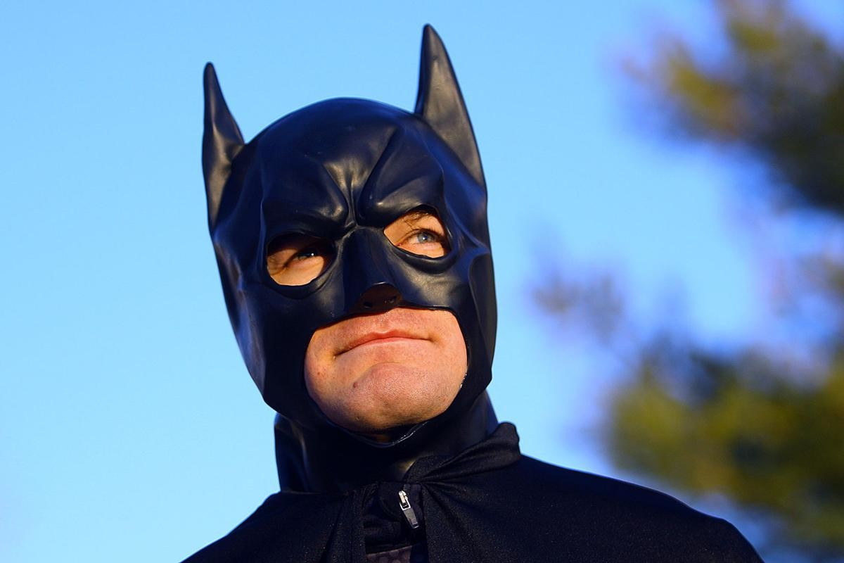 Kory Kennedy outruns his challenges by training for 500 Festival Mini-Marathon in Batman suit