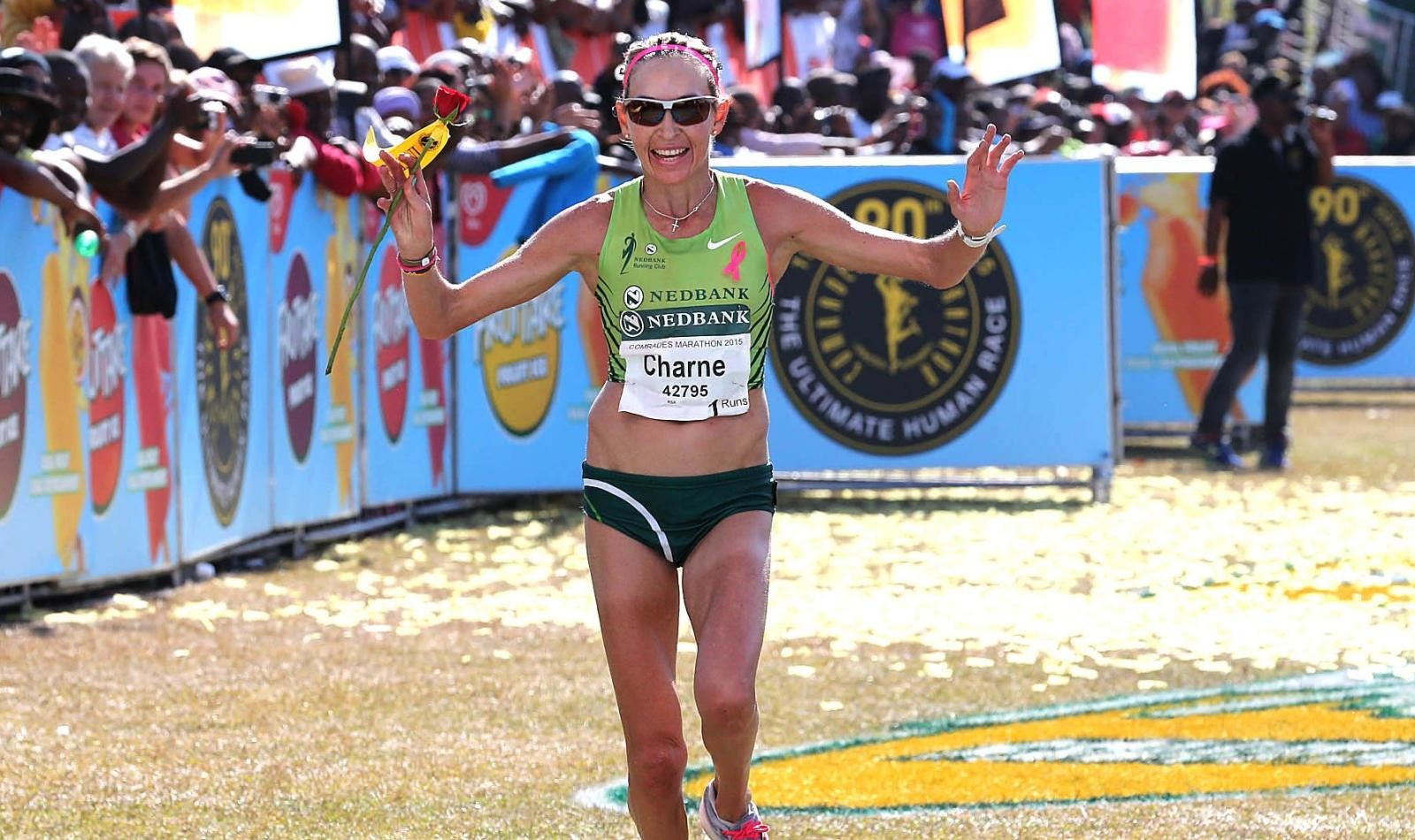 Former champion Caroline Wostmann has withdrawn from the Comrades Marathon.
