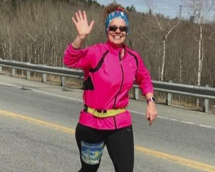 Lewiston teacher wins TCS New York City Marathon contest