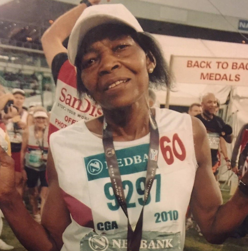 70-year-old Rosina Sebati will be this year's oldest female runner at the Comrades Marathon