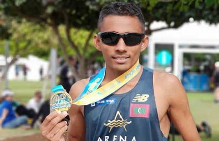 Shifaz Mohamed from Malvidez will train in Kenya to break his national marathon record at the Standard Chartered Dubai Marathon