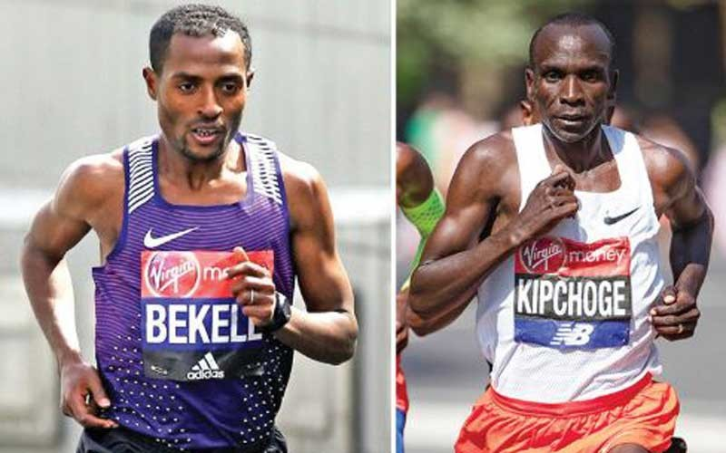 Kipchoge and Bekele showdown to wait until October 4 in London