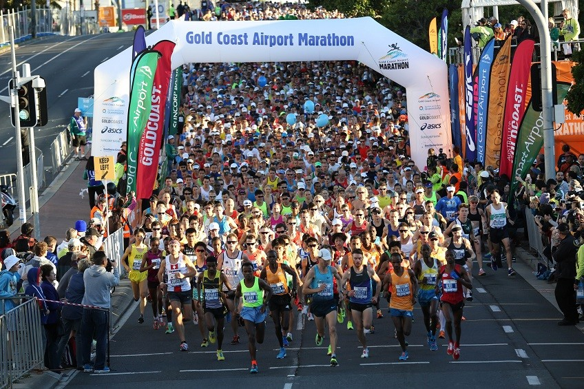 Top-class women's field at the Gold Coast Marathon