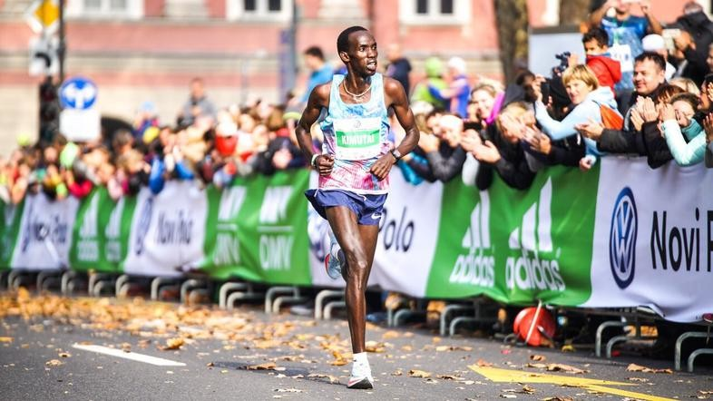 Marius Kimutai of Kenya will lead a deep field at the Chongqing Marathon aiming to break the course record