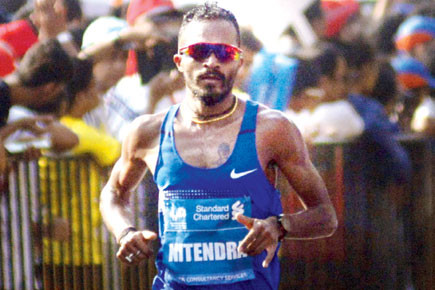 Indian long distance runner Nitender Singh Rawat is determined to produce his best performance at the Delhi Half Marathon