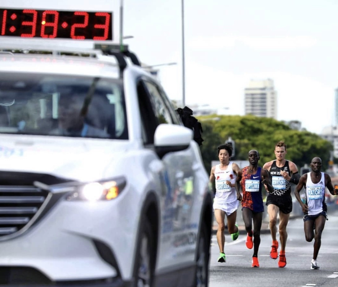 Zane Robertson sets new national New Zealand marathon record clocking 2:08:19 at Gold Coast Marathon