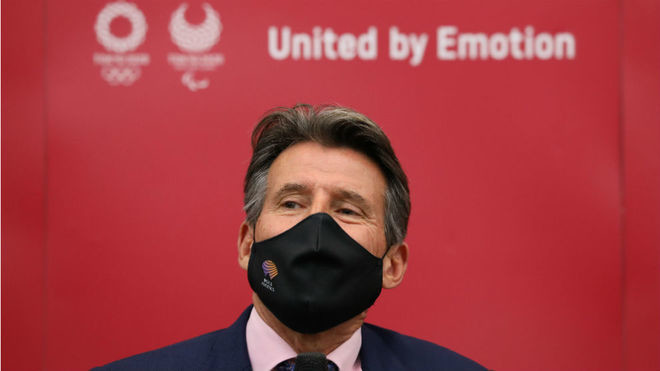 Sebastian Coe said on Friday he embraced new track technology that features pacemaking lights, a system used to great effect in two stunning world records last week