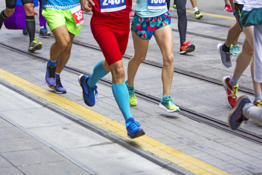 Study says that under training for a race can lead to injuries