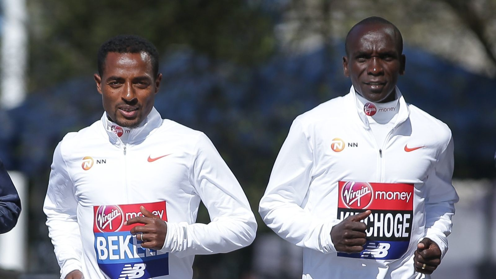 Athletic superstars like Eliud Kipchoge and Kenenisa Bekele will take part in a worldwide virtual team relay marathon next month