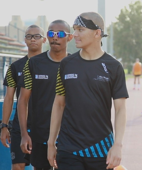 From Olympic medals to marathons, Isaac, Jonah, and Mica will be running the Adnoc Abu Dhabi Marathon 10km