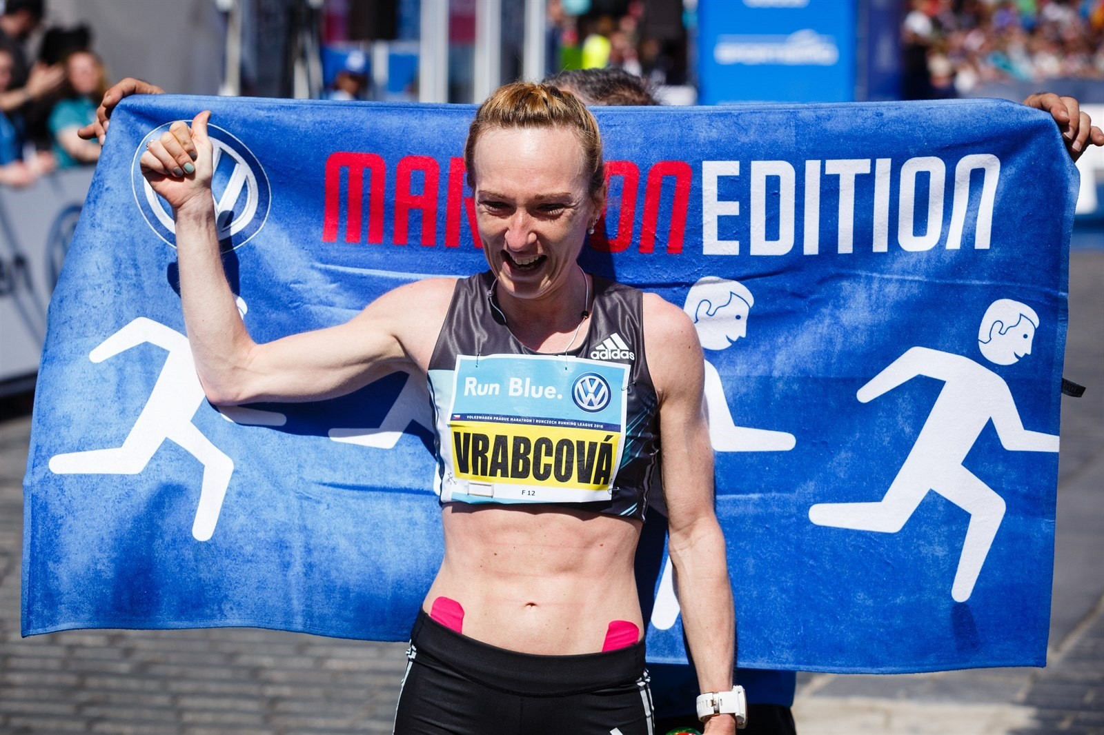 Eva Vrabcová Nývltová is the hot fovorite to win the  Karlovy Vary Half Marathon