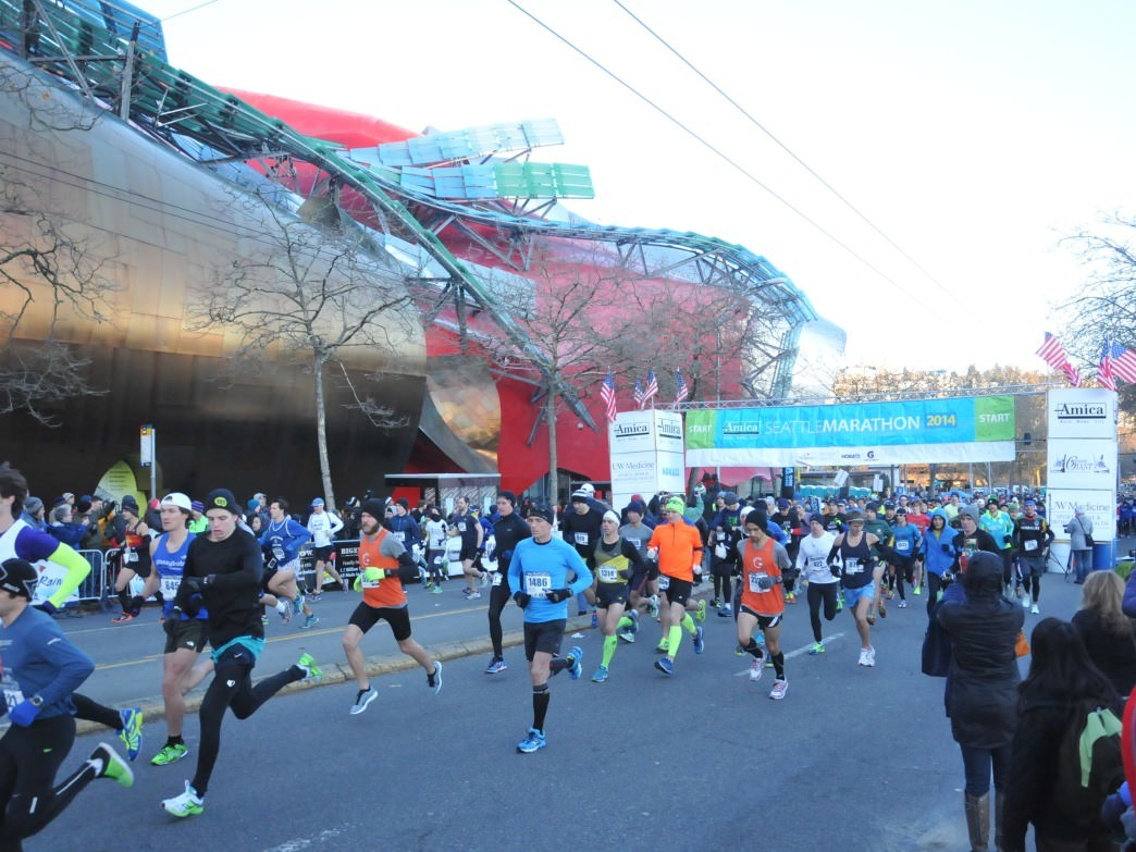 With new, flatter course, the Seattle Marathon will once again circle the city. But this year, the runners, joggers, and walkers won't be crossing Capitol Hill