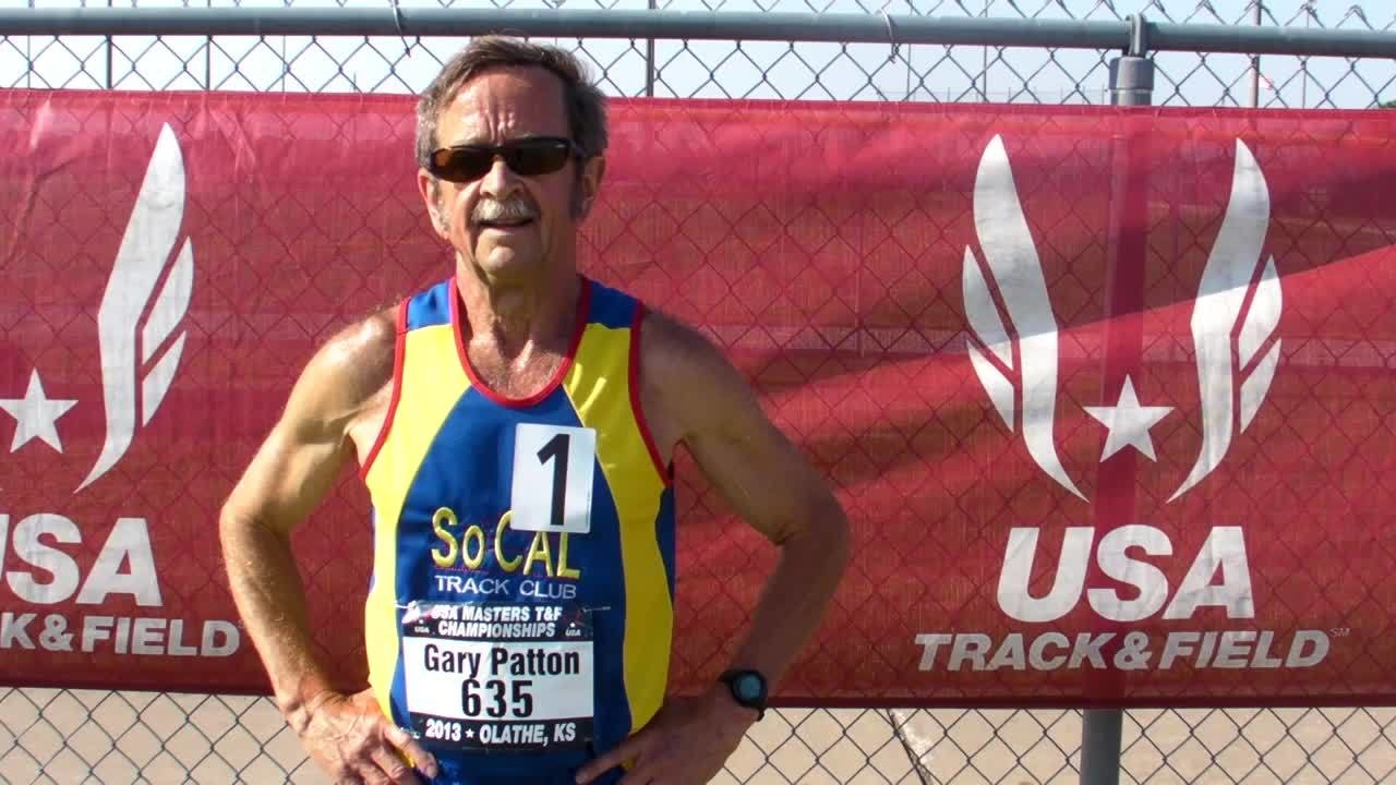 71-year-old breaks indoor mile world record