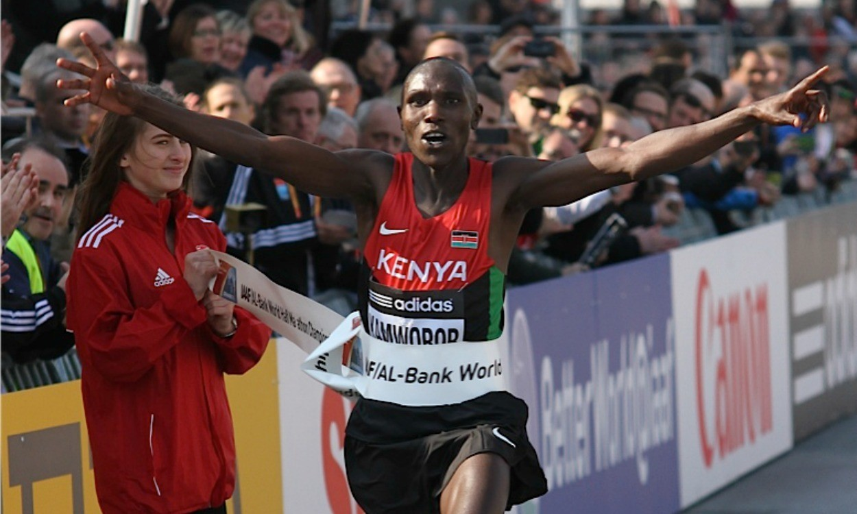 Kenyan Geofrey Kamworor will be the man to beat at World Half Championships