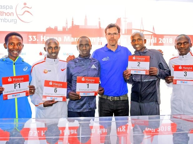 Mutai says he is healthy again after suffering stomach problems and ready to race Hamburg Marathon