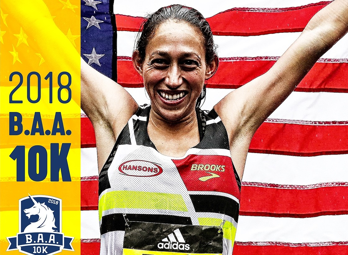 Boston Marathon Champion, Desiree Linden is returning to Boston for BAA10K