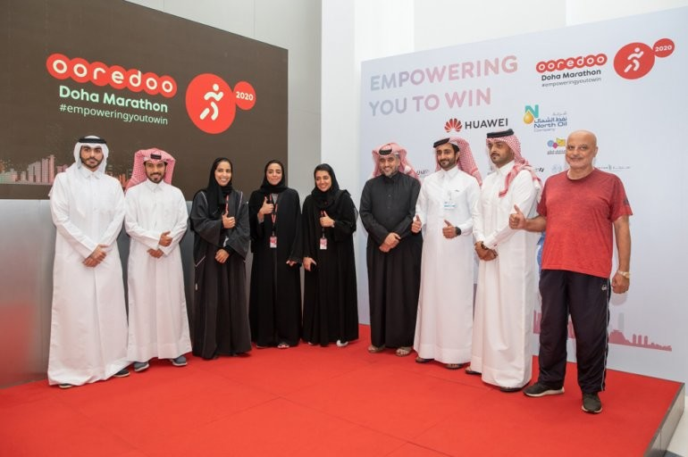 Thousands of runners will take part in the 2020 Ooredoo Doha Marathon