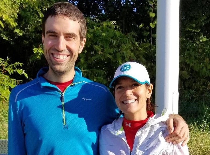 A couple will start the Detroit Free Press Marathon as an engaged couple and finish as a married couple