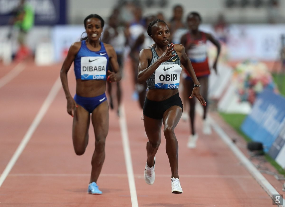 Kenya's Hellen Obiri is undecided for title defence in Doha