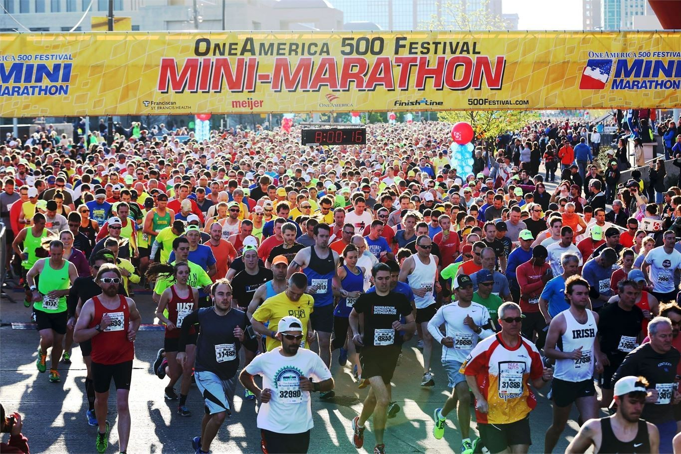 A word from the OneAmerica 500 Festival Mini-Marathon