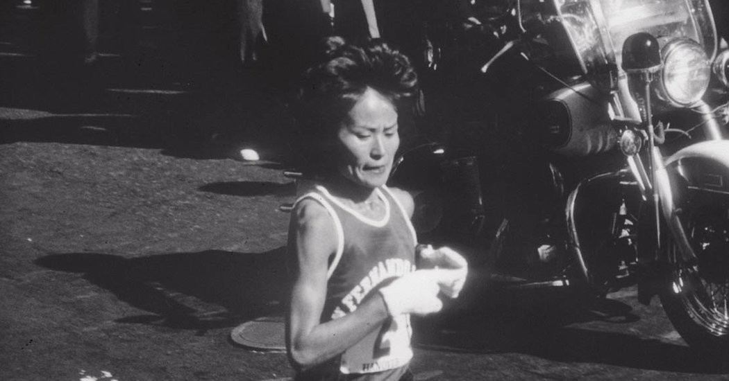 Only two American woman have won the New York City Marathon, Miki Gorman was the first in 1977.