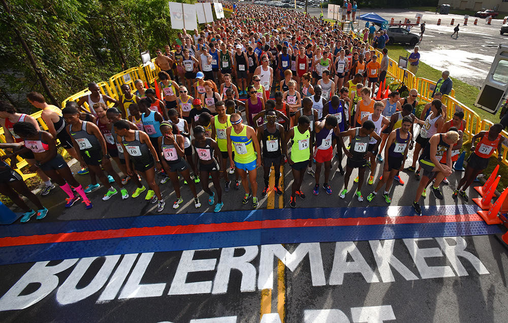 The Boilermaker 15K Road Race has reached its cap for participants again this year