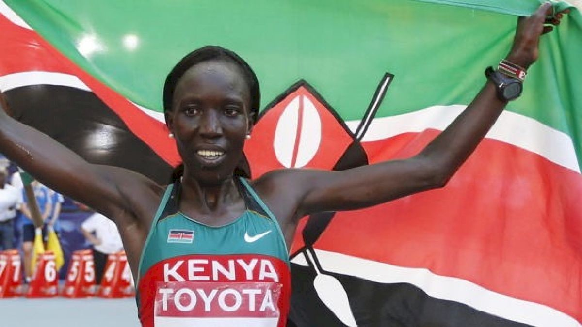 Edna Kiplagat, one of the world's top marathon runners plans to compete in the 2019 Manchester Road Race