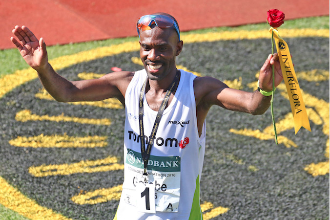 South African's David Gatebe gunning for 56K Two Oceans Marathon record