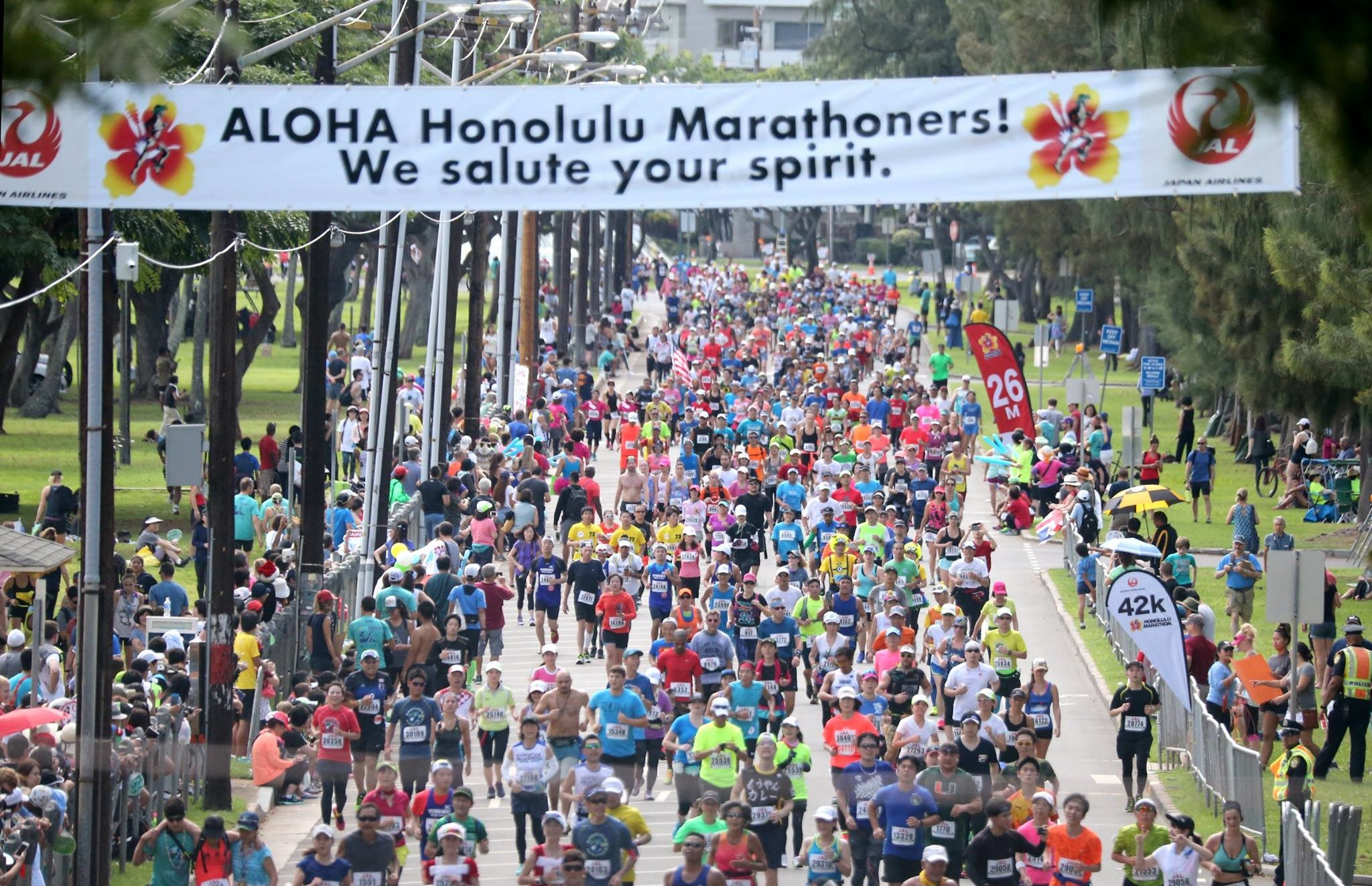 34th Honolulu Marathon Is World's 4th Biggest Marathon