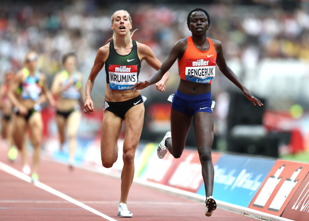 Kenyan Lilian Kasait qualified for the World Championships