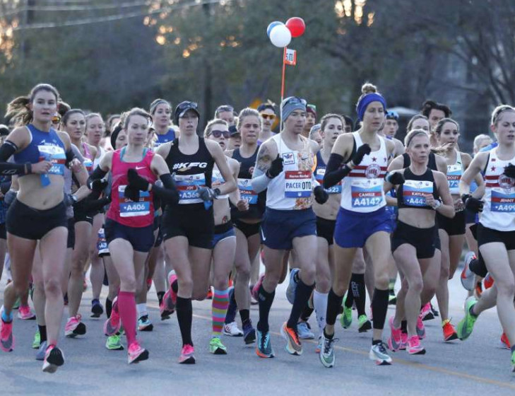 Kelkile Gezahegn, Askale Merachi take Houston marathon titles