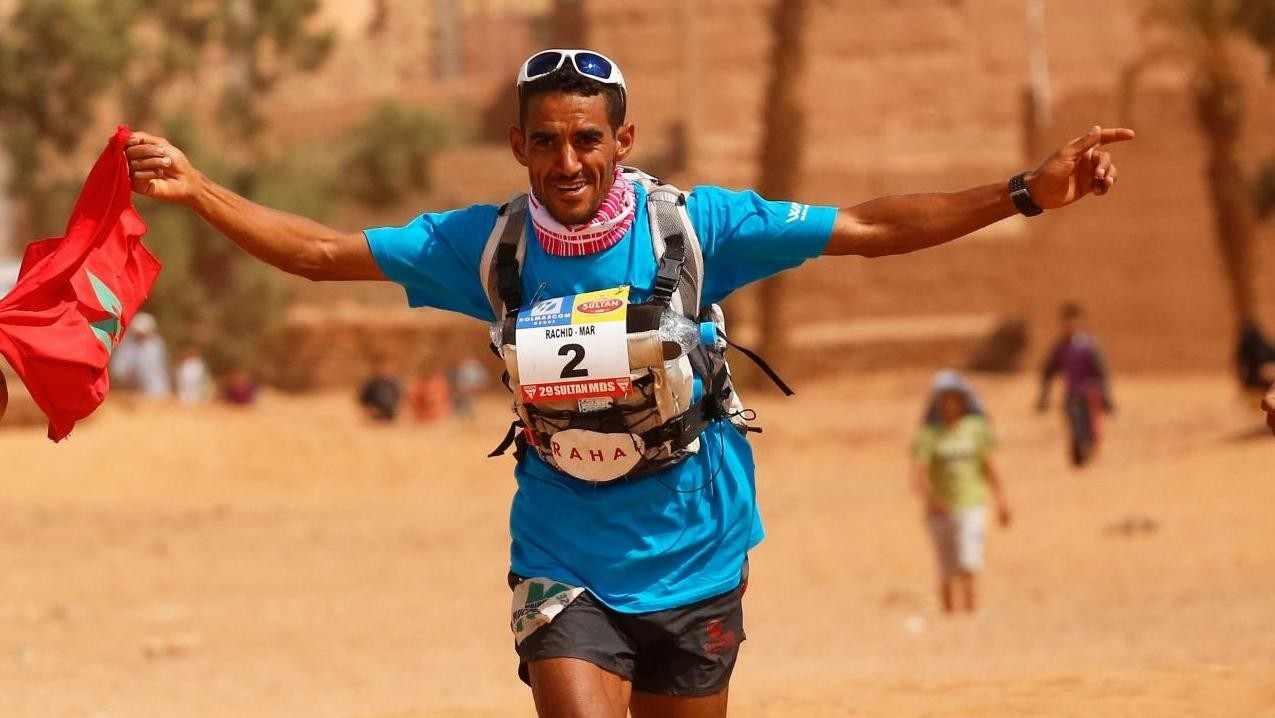 Moroccan Rachid claimed  his sixth victory in the Marathon Des Sables