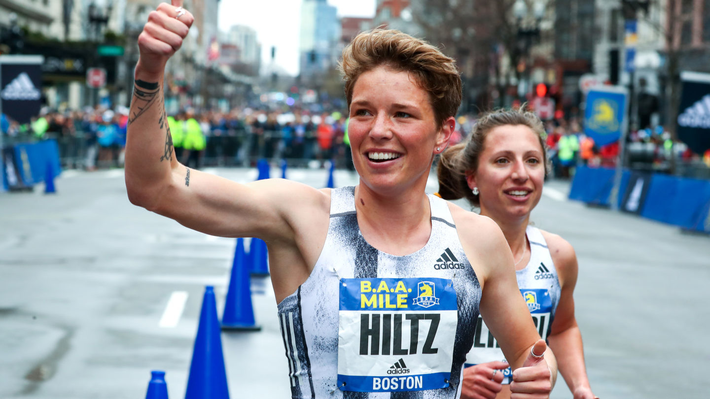 Nikki Hiltz plans to race for the podium at Fifth Avenue Mile