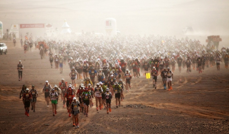 Joe Adamson is preparing to run a gruelling 250Km race in the punishing heat of the Sahara Desert.