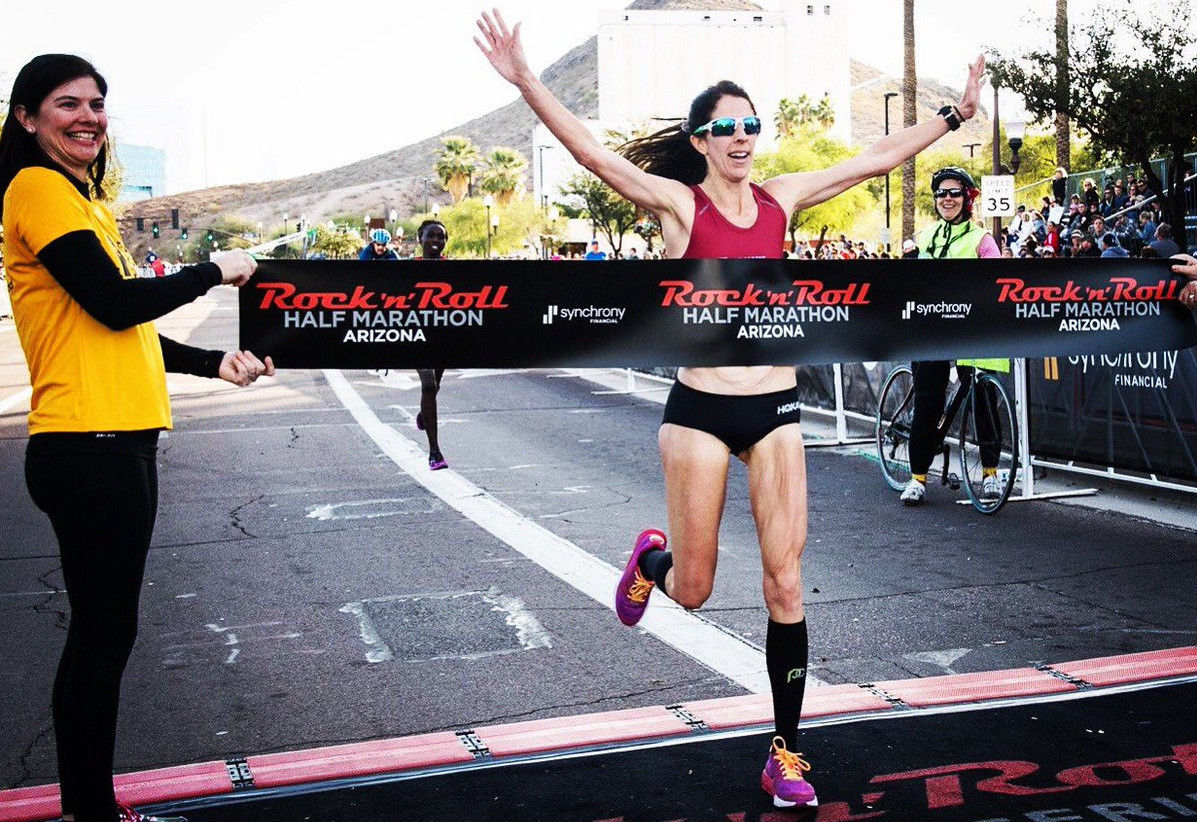Bruce takes top spot in the RnR Arizona half marathon