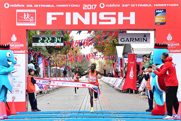 Marius Kimutai and defending champion Ruth Chepngetich of Kenya will headline the Vodafone Istanbul Marathon