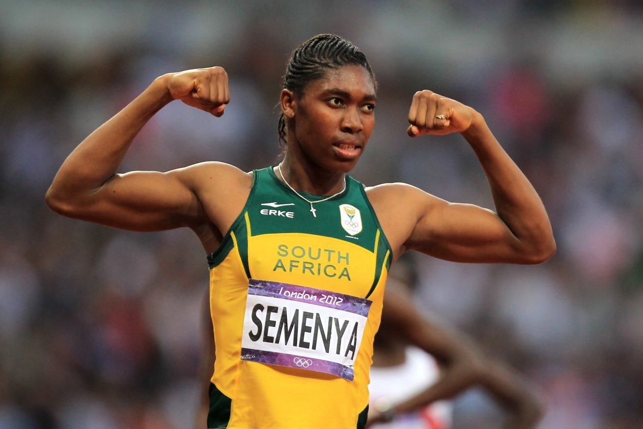 Caster Semenya ran just the second 5,000m of her racing career on Saturday