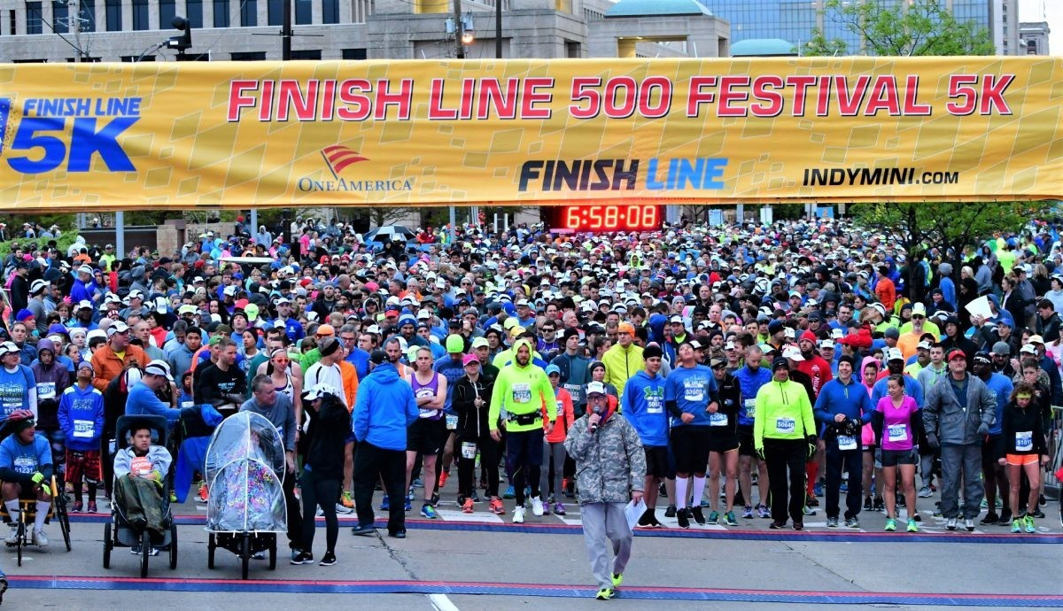 OneAmerica 500 Festival Mini-Marathon has once again been named Best Half Marathon in America by The BibRave 100