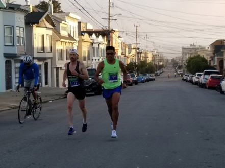 The weather was perfect for this year's San Francisco Marathon and Half Marathons
