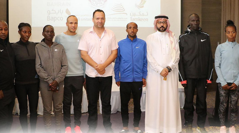 Some of the best elite runners from around the world, are set to compete today in the inaugural Bahrain Night Half-Marathon offering $100,000 to the winner