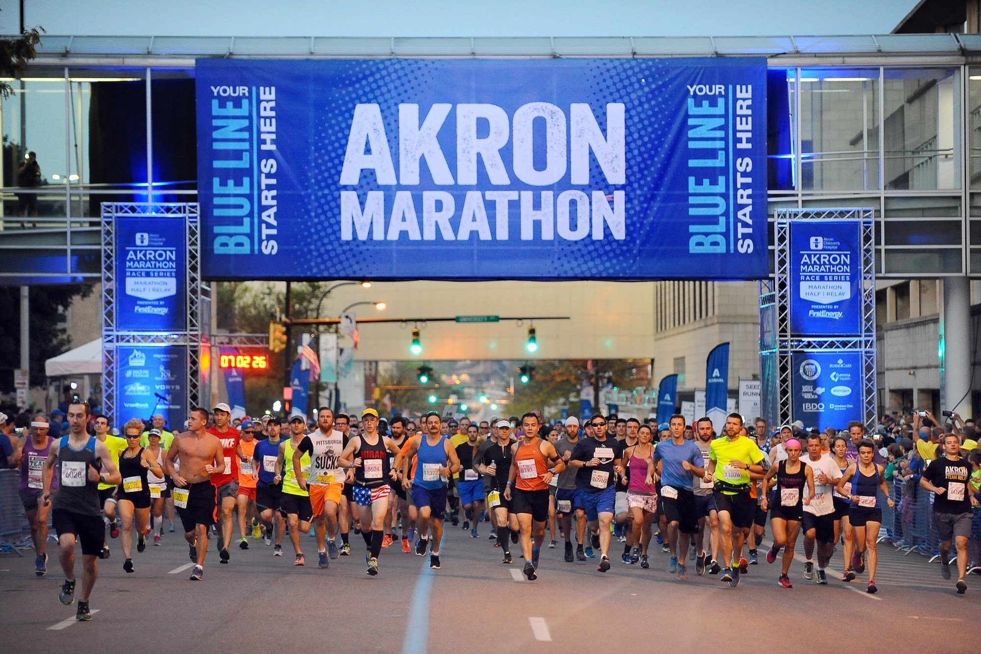 For the first time ever, Akron Marathon will be offering virtual race this year